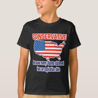 Conservative - Anti Obama T Shirts