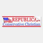 Conservative Christian Bumper Sticker