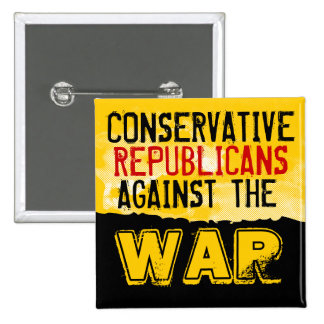 Conservative GOP against the War Button