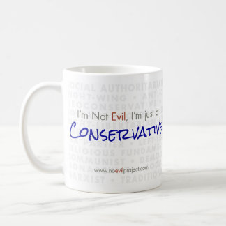 Conservative - I'm not Evil Mug