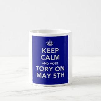 Conservative May 5th 2011 Election mug