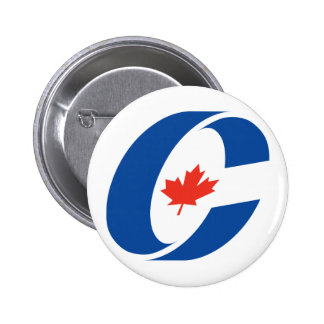 Conservative Party Logo 6 Cm Round Badge