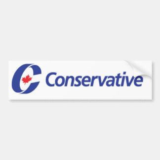 Conservative Party Logo Bumper Sticker