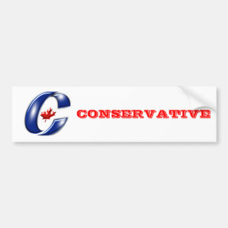 Conservative Party of Canada Political Merchandise Bumper Sticker