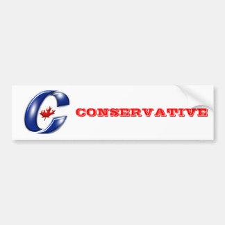 Conservative Party of Canada Political Merchandise Bumper Sticker