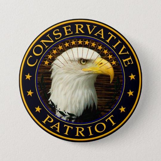 Conservative Patriot 2 7.5 Cm Round Badge