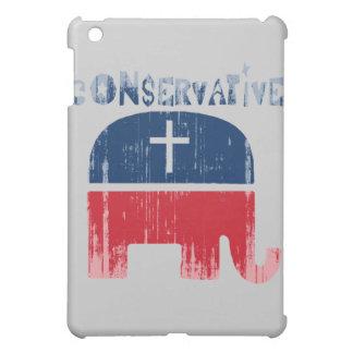 Conservative Republican Faded.png iPad Mini Case