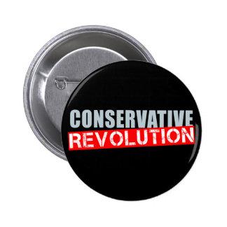 Conservative Revolution 6 Cm Round Badge