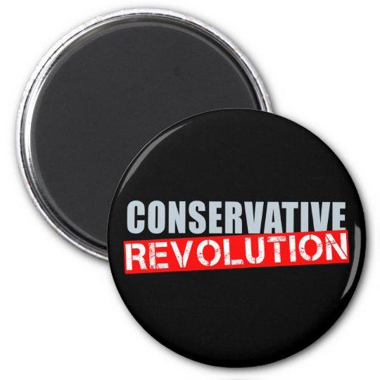 Conservative Revolution 6 Cm Round Magnet