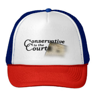 Conservative to the Court Truckers Snapback Hat
