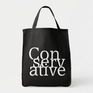 Conservative Canvas Bag