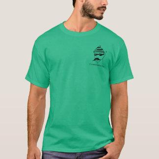 Conservative Vato Small Style T : Black on Light T-Shirt