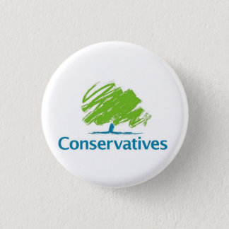 Conservatives Logo 3 Cm Round Badge