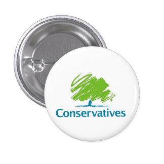 Conservatives Logo 3 Cm Round Badge