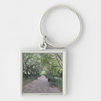 Conservatory Garden Central Park NYC Photography Key Ring