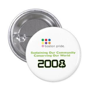 Conserve Small 3 Cm Round Badge