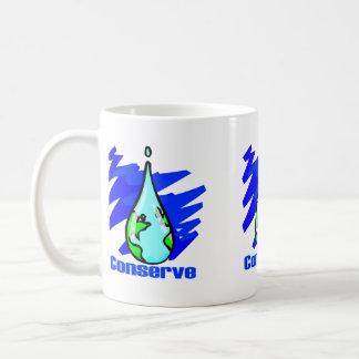 Conserve Water Coffee Mug