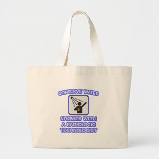 Conserve Water .. Shower With Radiologic Tech Bags