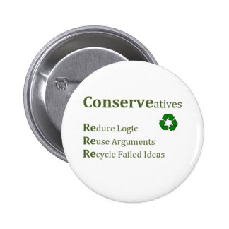 Conserveatives 6 Cm Round Badge