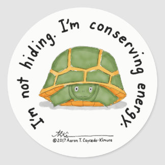 Conserving Energy Sticker
