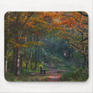 Consett landscape Autumn mouse pad North East