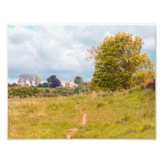 Consett landscape photograph print North East