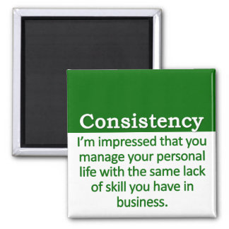Consistency  Definition Square Magnet