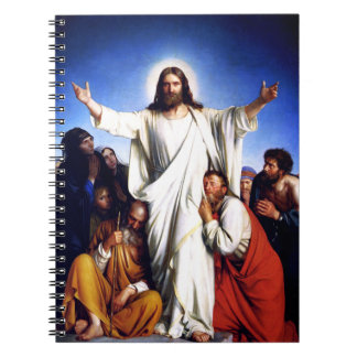 """""""Consolator"""" by Carl Bloch. Easter Gift Notebooks"""