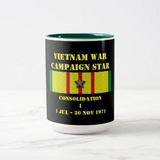 Consolidation I Campaign Two-Tone Coffee Mug