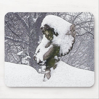 Consoling Angel • Cherub Mouse Pad