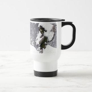 Consoling Angel • Cherub Stainless Steel Travel Mug