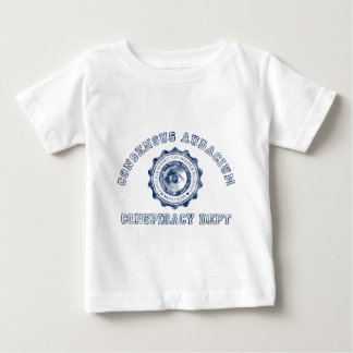 Conspiracy Crest in Blue Baby T-Shirt