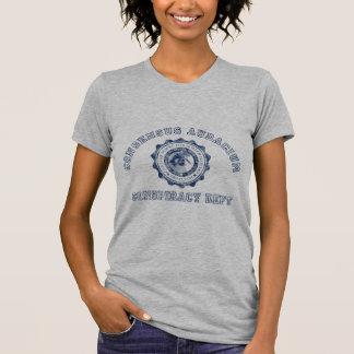 Conspiracy Crest in Blue Shirt