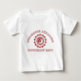 Conspiracy Crest in Red Baby T-Shirt