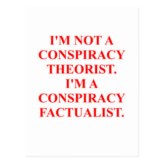 conspiracy post cards