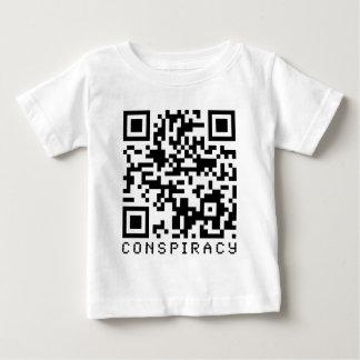 Conspiracy QR Code T-shirts