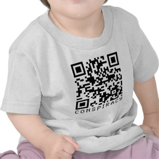 Conspiracy QR Code Tshirt