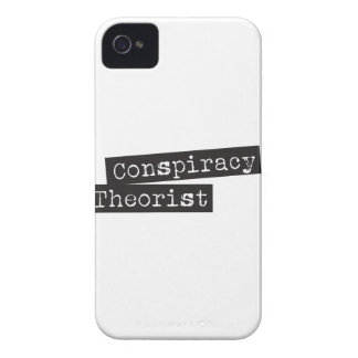 Conspiracy THEORIST Case-Mate iPhone 4 Case