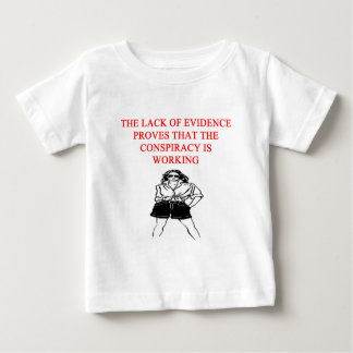 conspiracy theory joke baby T-Shirt