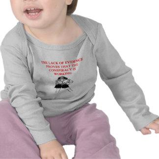 conspiracy theory joke tshirts