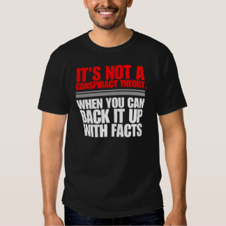 CONSPIRACY THEORY TEE SHIRT