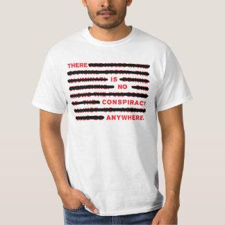 Conspiracy white t shirt