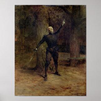 Constant Coquelin  as Cyrano de Bergerac Print