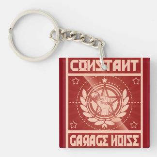 Constant Garage Noise Keychain