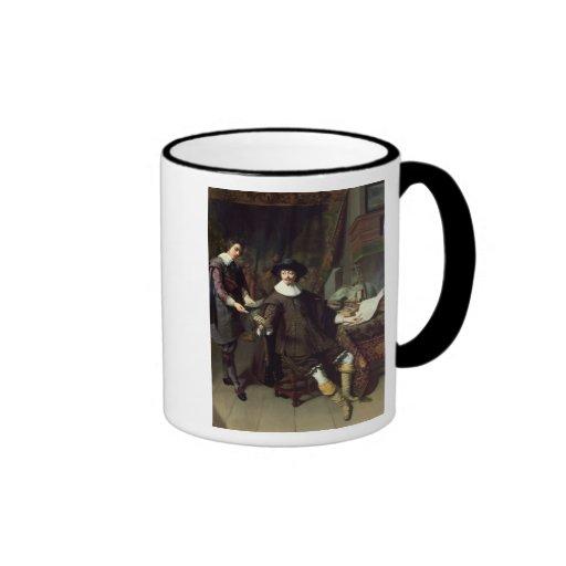 Constantijn Huygens  and his clerk, 1627 Mug