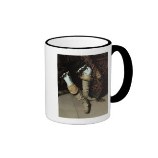 Constantijn Huygens  and his clerk, 1627 Ringer Coffee Mug
