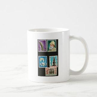 Constantin Brancusi art on stamps Basic White Mug