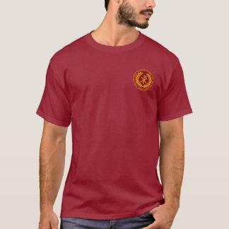 Constantine the Great Maroon & Gold Laurea Shirt