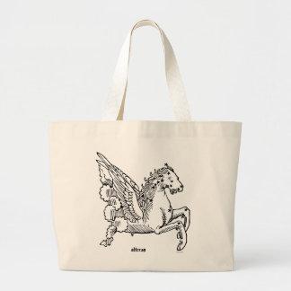 Constellaion: Pegasus Large Tote Bag