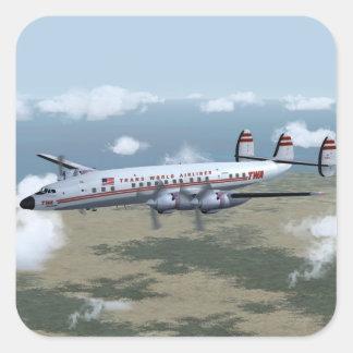 Constellation Airliner Stickers